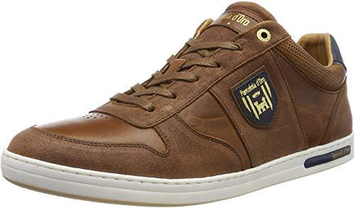 Pantofola d'Oro Herren MILITO Uomo Low Sneaker, Braun (Tortoise Shell.Jcu), 46 EU