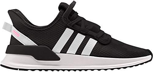 adidas Unisex-Kinder U_path Run J Gymnastikschuhe, Schwarz (Core Black/Ftwr White/Shock Red), 38