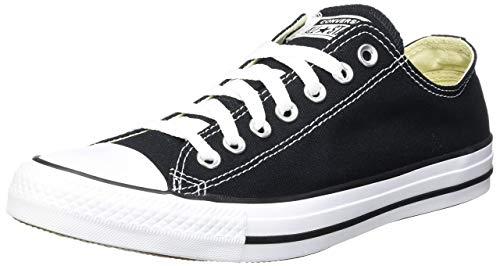CONVERSE Chuck Taylor All Star Seasonal Ox, Unisex-Erwachsene Sneakers, Schwarz (Black/white), 40 EU