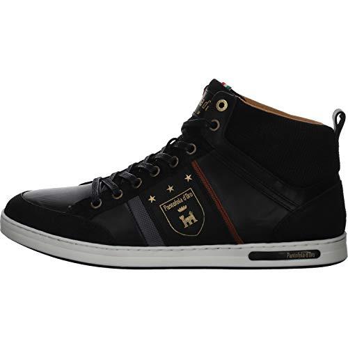 Pantofola d'Oro Herren MONDOVI Uomo MID Hohe Sneaker, Schwarz (Black .25y), 43 EU