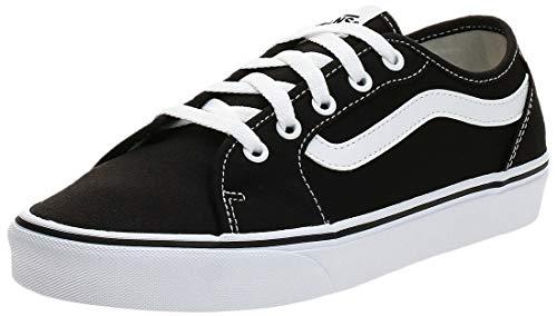 Vans Damen Filmore Decon Sneaker, Schwarz ((Canvas) Black/True White 1Wx), 38 EU