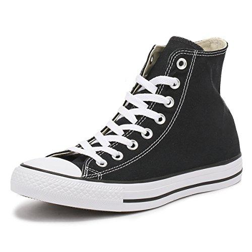 CONVERSE Chuck Taylor All Star Seasonal Ox, Unisex-Erwachsene Sneakers, Schwarz (Black), 45 EU (11 Erwachsene UK)