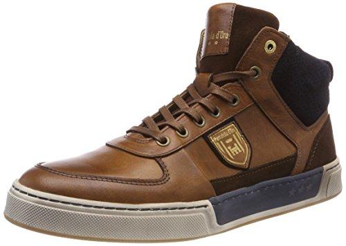 Pantofola d'Oro Herren FREDERICO Uomo MID Hohe Sneaker, Braun (Tortoise Shell .Jcu), 41 EU