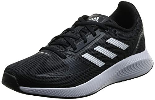 adidas Unisex Runfalcon 2.0 Sneaker, Core Black Cloud White Grey, 40 2/3 EU