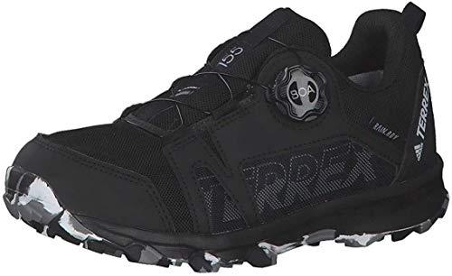 adidas Unisex-Kinder Terrex Agravic Boa R.rdy K Leichtathletik-Schuh, Core Black Footwear White Grey Three, 38 2/3 EU