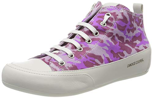 Candice Cooper Damen Mid Hohe Sneaker, Pink (Orchid Camouflage), 42 EU