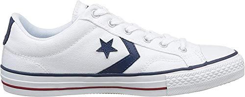 Converse Sp Core Canv Ox 289161-52-10 Unisex - Erwachsene Sneaker, Weiß (Weiß), 41 EU / 7.5 UK