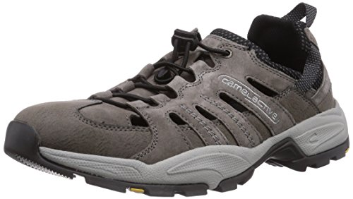 camel active Herren Evolution 21 Sneakers, Grau (dk.grey 10), 42.5 EU