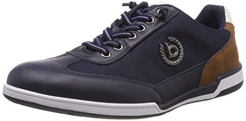 bugatti Herren 321726035900 Sneaker, Blau, 43 EU