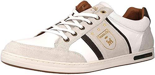 Pantofola d'Oro Herren MONDOVI Uomo Low Sneaker, Weiß (Bright White .1FG), 46 EU