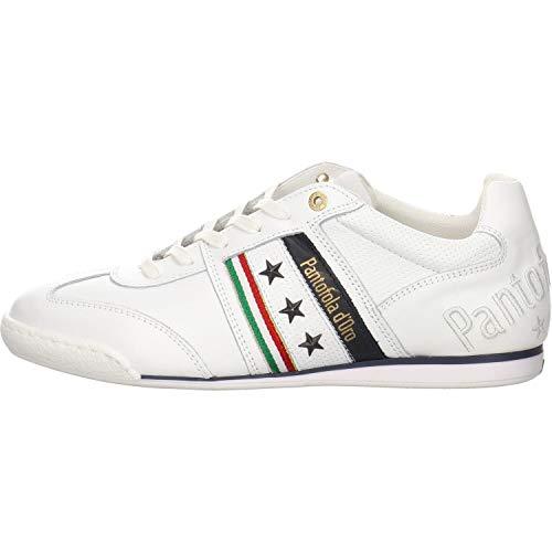 Pantofola d'Oro Herren Sneaker Low Imola Romagna Uomo Low, 47 EU, Bright White
