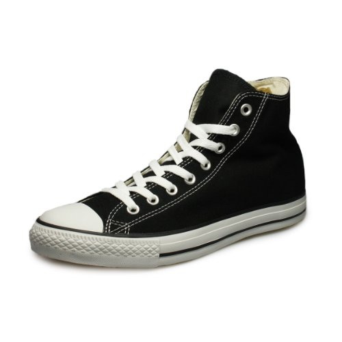 Converse All Star Hi Canvas Schwarze Sneakers-UK 7