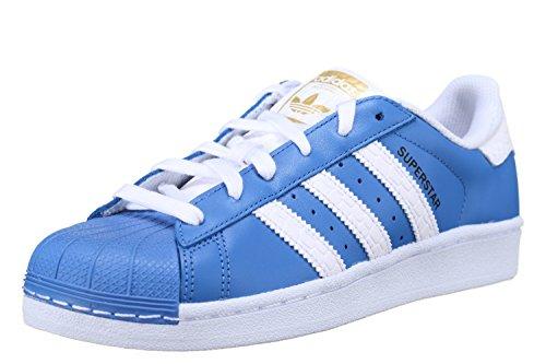 adidas Originals Superstar Sneaker S75881 Ray Blue/White Gr. 38,0 (UK 5,0)