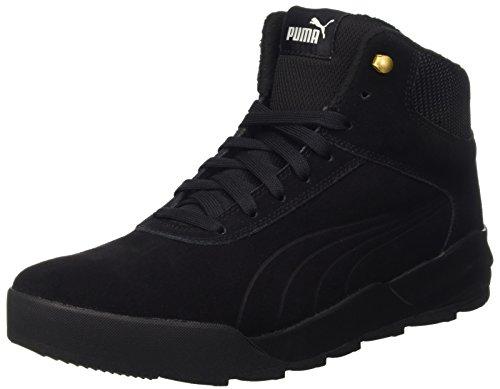 Puma Unisex-Erwachsene Desierto Sneaker Schneestiefel, Schwarz (Black 02), 47 EU