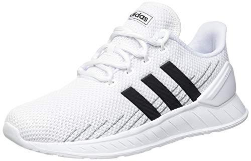adidas Herren Questar Flow NXT Sneaker, Cloud White/Core Black/Grey, 44 2/3 EU