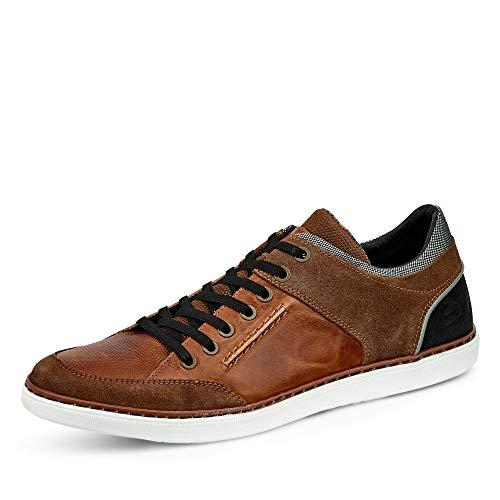 BULLBOXER Sneaker, Groesse 43, Cognac