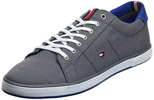 Tommy Hilfiger H2285arlow 1d, Herren Sneaker, Grau (Steel Grey 596), 45 EU