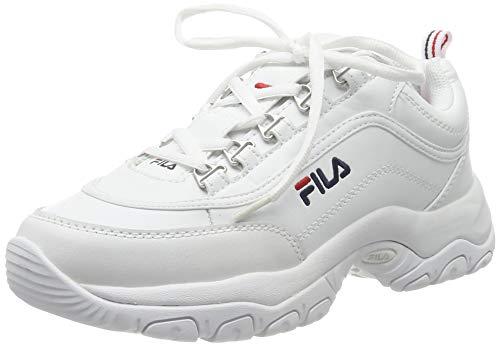 FILA Damen Strada wmn Sneaker, White, 42 EU