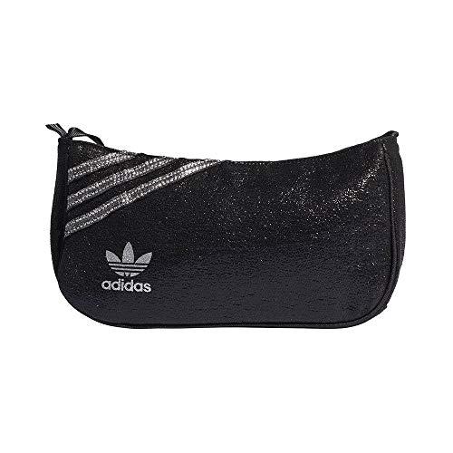 adidas, schwarz/silbermetallic, One Size