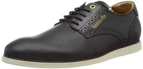Pantofola d'Oro Herren LUGO Uomo Low Derbys, Schwarz (Black .25y), 41 EU