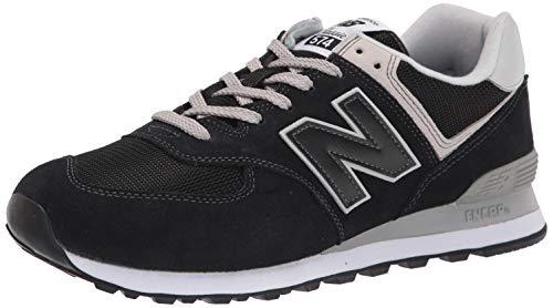 New Balance Herren 574v2-Core Sneaker, Schwarz (Black), 43 EU