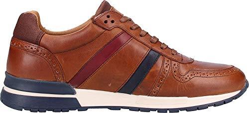 Pantofola d'Oro Herren SANGANO Uomo Low Sneaker, Braun (Tortoise Shell.Jcu), 46 EU