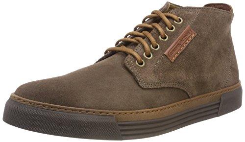 camel active Herren Racket 20 Hohe Sneaker, Braun (Taupe (Mocca) 15), 41 EU (7.5 UK)