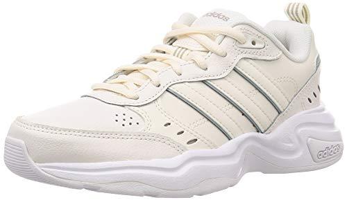 adidas Damen Strutter Fitness-und Trainingsschuhe, Weiß (White Cloud/Cloud White/Grey ASH S18), 38 2/3