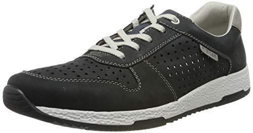 Rieker Herren B9415-14 Sneaker, Blau (Ozean/Staub 14), 43 EU
