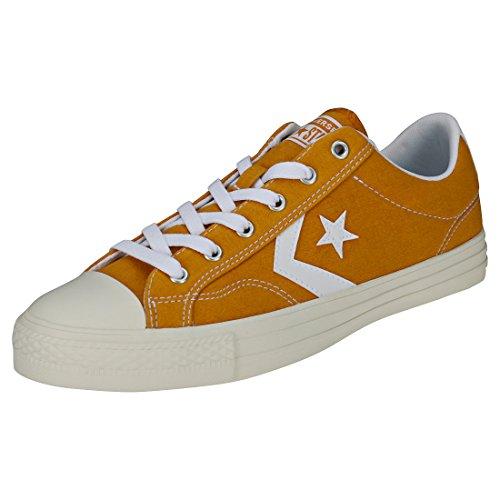 Converse Unisex Lifestyle Star Player Ox Sneakers, Mehrfarbig (Turmeric Gold/White/White 702), 51.5 EU