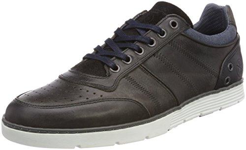 BULLBOXER Herren 3768Y Sneaker, Schwarz (Black), 42 EU