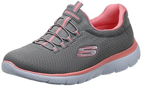 Skechers Damen 12980 Sneaker, Grey Pink, 38 EU