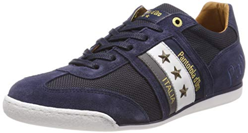Pantofola d'Oro Herren Imola 2T Canvas Uomo Low Sneaker, Blau (Dress Blues .29Y), 45 EU