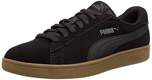 PUMA Unisex Smash v2' Sneaker, Black Black, 44 EU