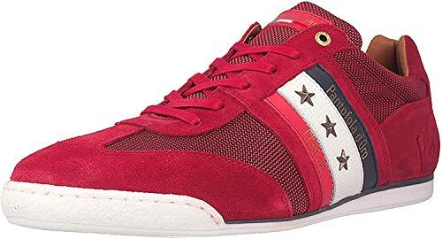 Pantofola d'Oro Herren Sneaker Low Imola Canvas Uomo Low Ascoli, Racing Red (10201042.90j), 43 EU