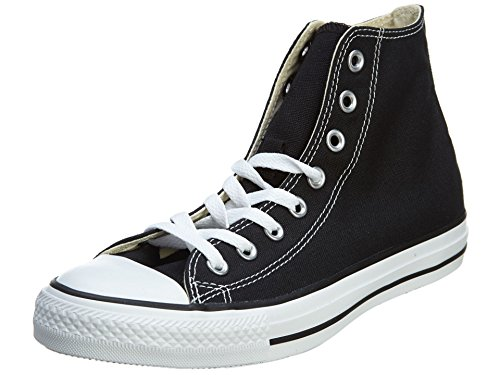 Converse Chuck Taylor All Star, Unisex-Erwachsene Hohe Sneakers, Schwarz (M9160 Schwarz/weiß), 46 EU