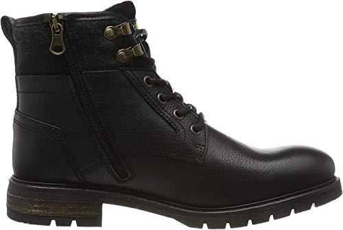 Pantofola d'Oro Herren LEVICO Uomo HIGH Biker Boots, Schwarz (Black .25y), 40 EU