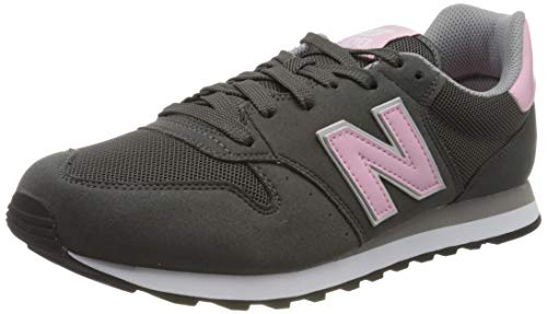 New Balance Damen 500 Sneaker, Grau (Grey), 40.5 EU