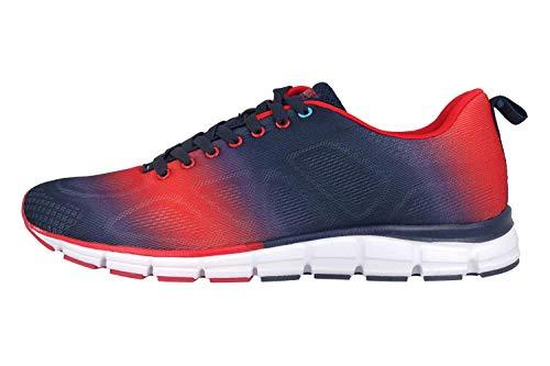 Boras Sneaker in Übergrößen Mehrfarbig 5201-0215 große Herrenschuhe, Größe:50