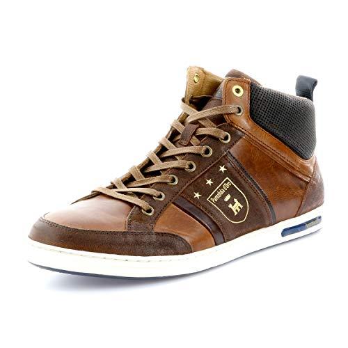 Pantofola d'Oro Herren MONDOVI Uomo MID Hohe Sneaker, Braun (Tortoise Shell.Jcu), 44 EU