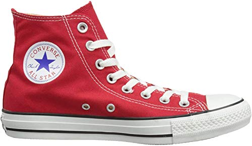 Converse Chuck Taylor All Star, Unisex-Erwachsene Hohe Sneakers, Rot (Red), 41 EU