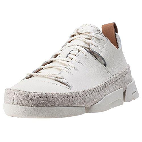 Clarks Originals Trigenic Flex, Damen Sneakers, Weiß (Weiß Nubuck), 38 EU (5 Damen UK)