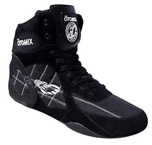 OTOMIX Ninja Warrior Fitness Bodybuilding MMA Schuh Sneaker High Tops - Black/Schwarz