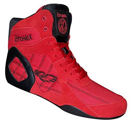 OTOMIX Ninja Warrior Fitness Bodybuilding MMA Schuh Sneaker High Tops - Red/Rot