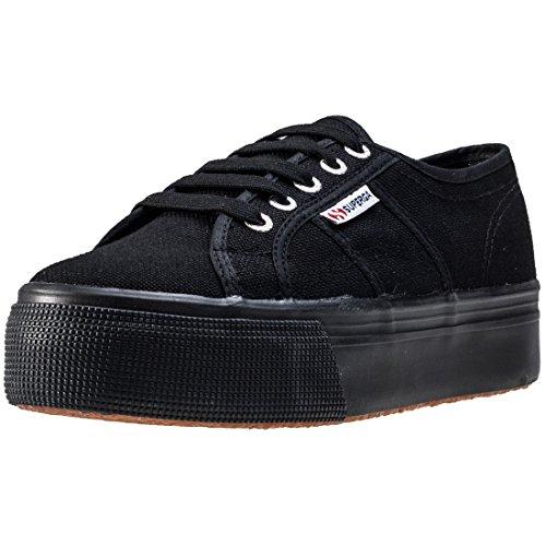 Superga Damen 2790acotw Linea Up and Down Sneaker, Schwarz (996), 39.5 EU