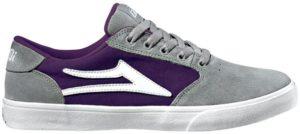 Lakai Sneakers Pico gray purple suede