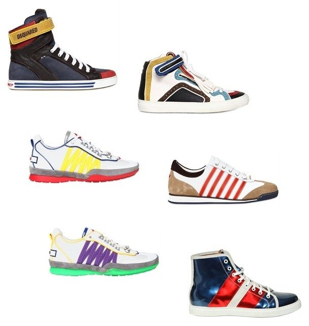 Bunte Designer Sneakers – mehr Farbe im Outfit