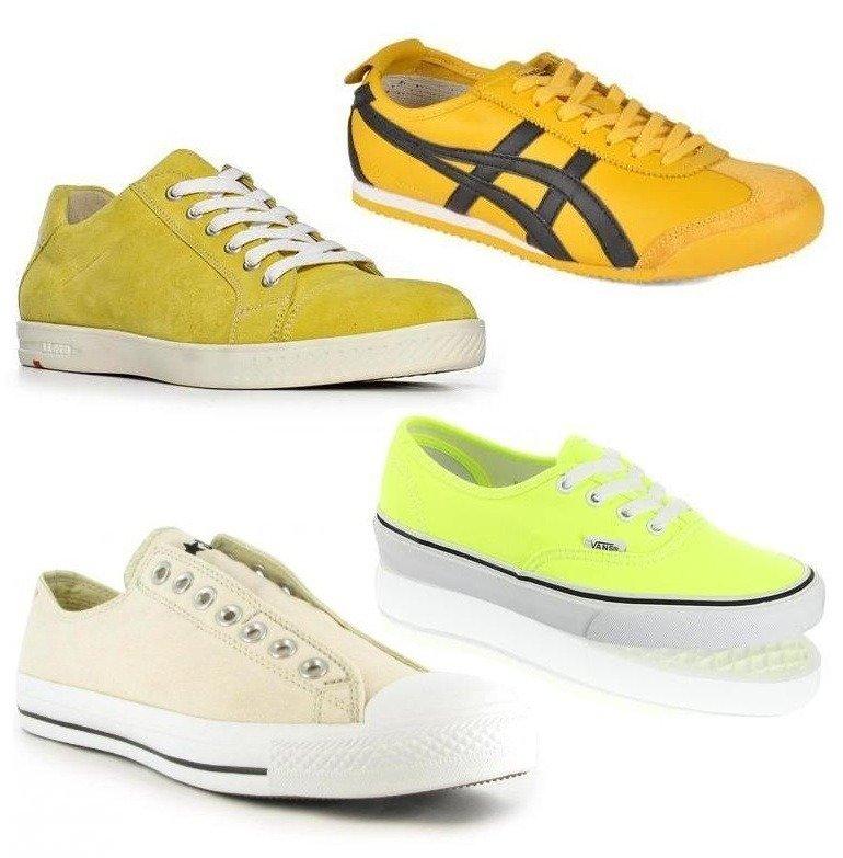 Das große Farben Finale: Gelbe Sneakers