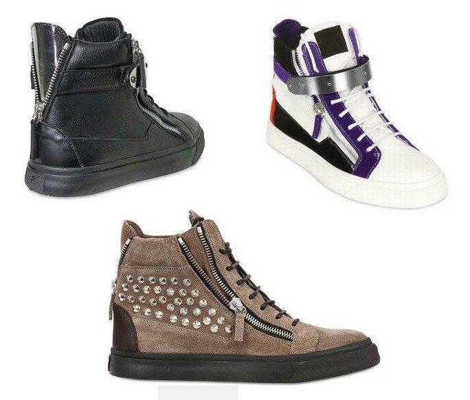 designer check giuseppe zanotti sneakers. Black Bedroom Furniture Sets. Home Design Ideas