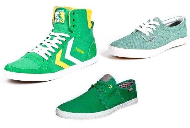 Sneakerfarben: Rot und Grün - Teil 2